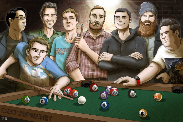 altcoin_founders_playing_pool